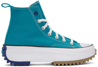 Converse Blue Run Star Hike Sneakers