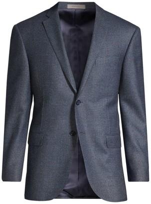 Corneliani Regular-Fit Academy Single-Breasted Wool Jacket