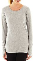 JCPenney XersionTM Long-Sleeve Cotton Tunic