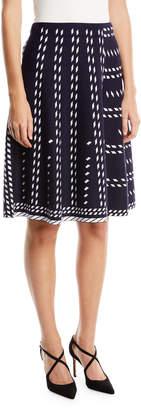 Nic+Zoe Petite Falling Star Twirl Skirt
