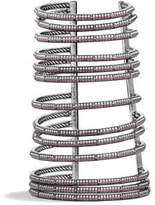 David Yurman Stax Multi-Row Pave Bracelet With Ruby And Diamonds,