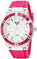 Roxy Women's RX/1005SVPK THE BLISS Pink Silicone Strap Watch