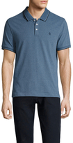 Original Penguin Vintage Gym Suede Short Sleeve Polo Shirt