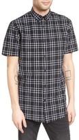 Zanerobe Men's 7Ft Plaid Woven Shirt