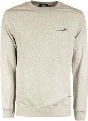 A.P.C. Left Chest Logo Sweatshirt
