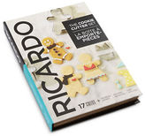 Ricardo 17-Piece Cookbook Cookie Cutter Set