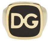 Dolce & Gabbana Gold 'DG' Ring