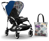 Bugaboo Andy Warhol Bee 3 Tailored Fabric Set, Blue/Transport