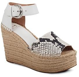 Marc Fisher Women's Lalida Espadrille Wedge Sandals