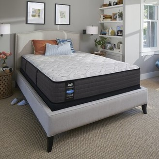 "Sealy Response Performance 12.5"" Plush Innerspring Mattress and Box Spring Mattress Size: Twin, Box Spring Height: Low Profile (5"")"