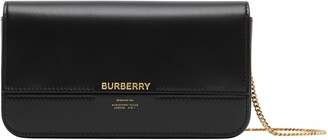 Burberry Camille Leather Wallet on a Chain