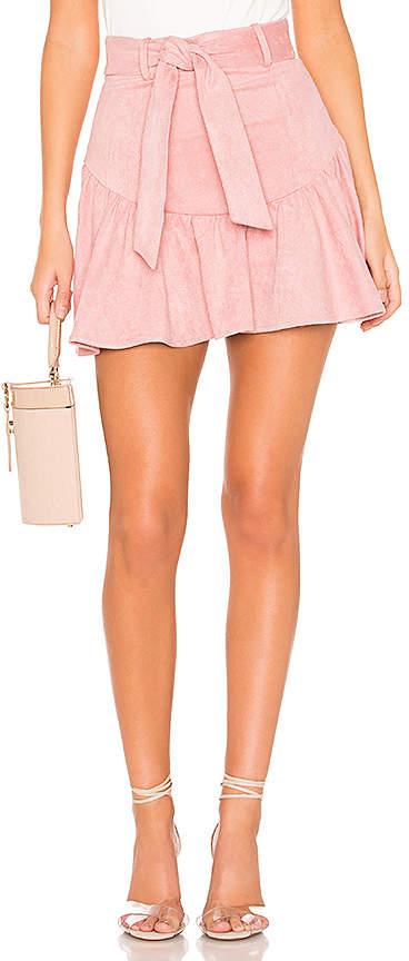 5c03515cd Mauve Skirt - ShopStyle