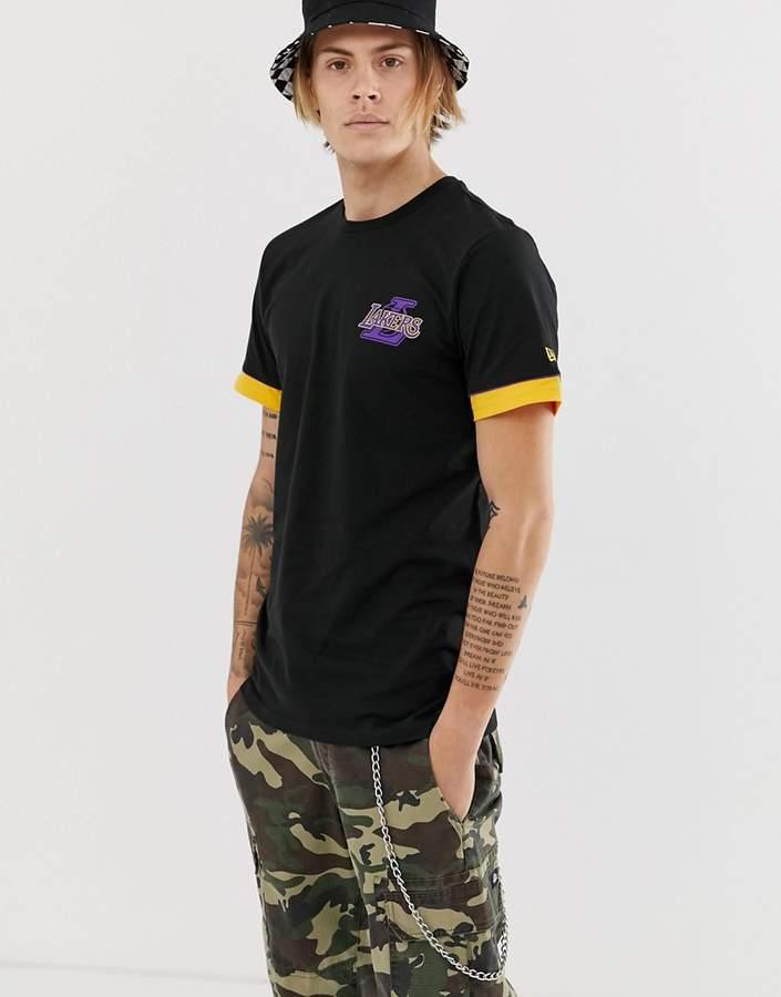 67d59d89b6c New Era Black T Shirts For Men - ShopStyle UK
