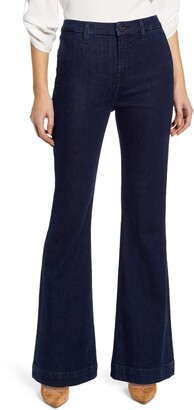 JEN7 by 7 For All Mankind High Waist Tailorless Trouser Jeans