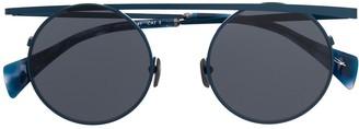Yohji Yamamoto Futuristic Aviator Sunglasses