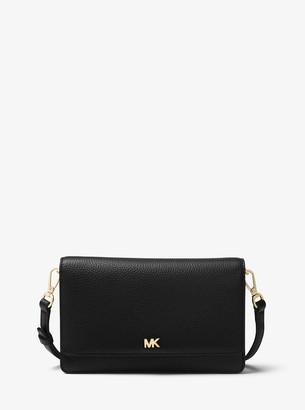MICHAEL Michael Kors Pebbled Leather Convertible Crossbody Bag