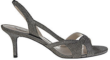 JCPenney I. Miller Chantay Metallic Slingback Sandals