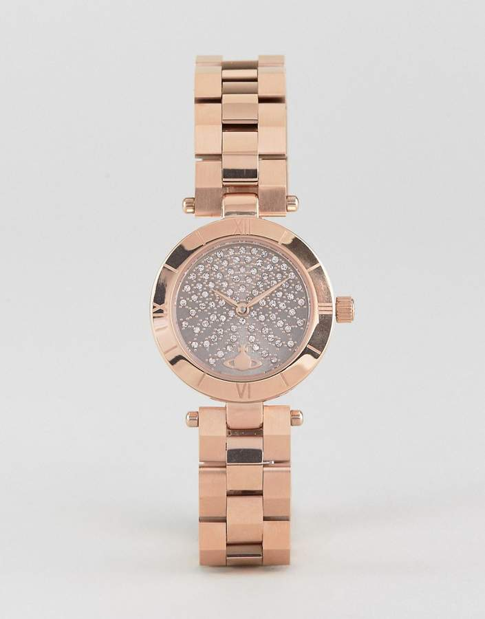 Vivienne Westwood Vv092chrs Bracelet Watch In Gold