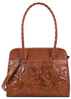 Patricia Nash Large Paris Tooled Satchel