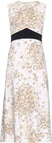 Giambattista Valli Daisy-print crepe dress