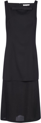 Maison Margiela Rear Zipped Sleeveless Dress