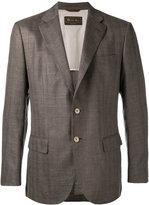 Loro Piana Madrid blazer - men - Silk/Linen/Flax/Cupro/Goat Suede - 56
