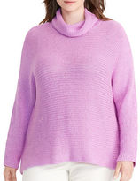 Lauren Ralph Lauren Plus Wool-Blend Funnel Neck Sweater