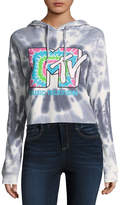 Freeze MTV Cropped Sweatshirt-Juniors