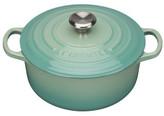 Le Creuset Signature Round Casserole 20cm/2.4l Cool Mint