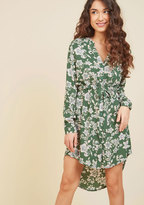 Do You Coffee? Shirt Dress in Flowers in 4X