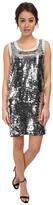 Love Moschino Sleeveless Sequin Tank Dress