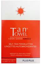 Tan Towel Self-Tan Towelettes Ten-Pack Plus