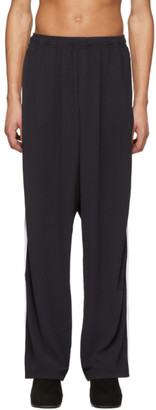 Random Identities Black 2-Stripe Lounge Pants
