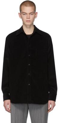 Marni Black Corduroy Shirt