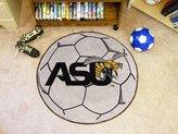 Fanmats Alabama State University Soccer Ball Rug