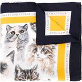 Stella McCartney cat print scarf