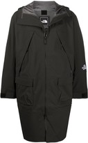 The North Face hooded rain coat