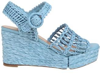 Paloma Barceló natasha Sandal In Rope Color Blue