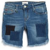 Hudson Girls 7-16 Patch Berm Beach Shorts