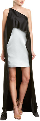 Narciso Rodriguez One-Shoulder Cocktail Dress