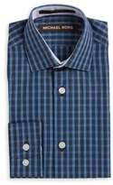 Michael Kors Boy's Plaid Cotton Sportshirt