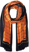 MICHAEL Michael Kors Multi Dressage Oblong Scarf