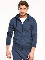 Very SLUB ZIP THROUGH HOODIE