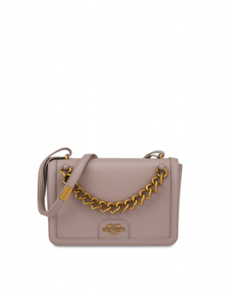 Love Moschino Shoulder Bag Chain Heart