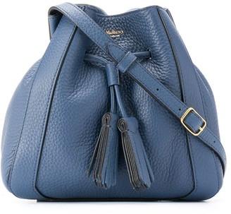 Mulberry Drawstring Shoulder Bag With Tassel Detail