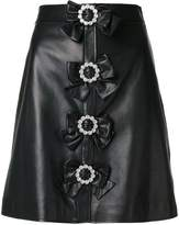 Gucci short skirt with bows
