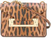 Sophie Hulme leopard print bag - women - Calf Leather - One Size