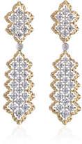 Buccellati Rombi Diamond Drop Earrings