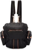Alexander Wang Black Mini Marti Backpack