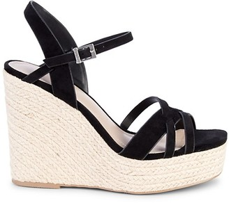 Charles by Charles David Dulce Faux Suede Espadrille Wedge Sandals